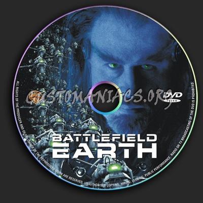 Battlefield Earth dvd label