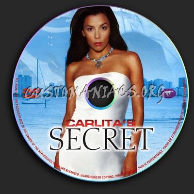 Carlita's Secret dvd label
