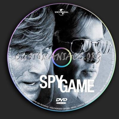 Spy Game dvd label