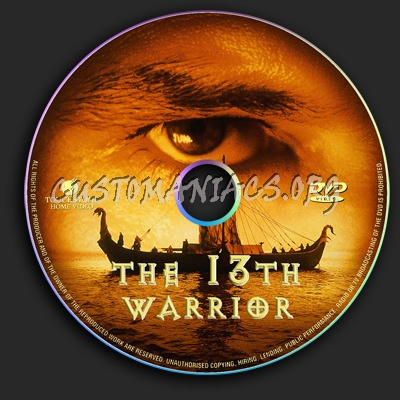 The 13th Warrior dvd label