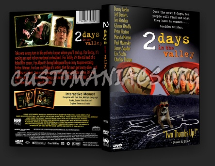 2 Days In The Valley dvd cover