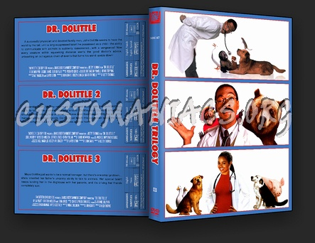 Dr Dolittle Trilogy dvd cover