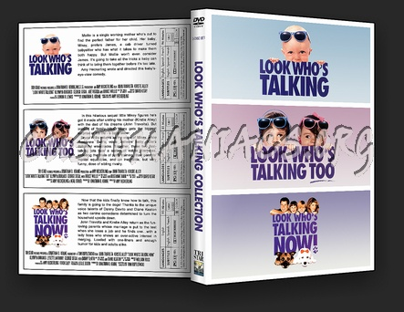 Look Who's Talking Collection dvd cover