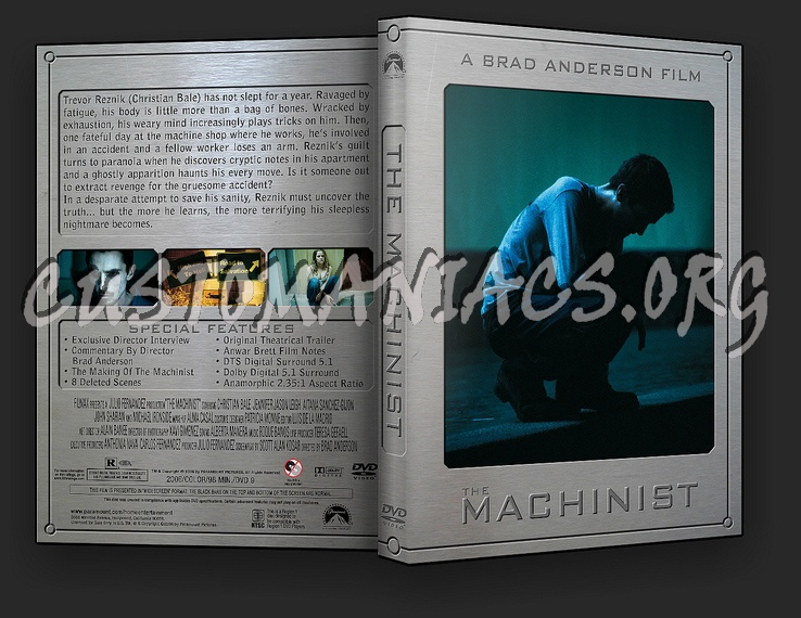 The Machinist dvd cover