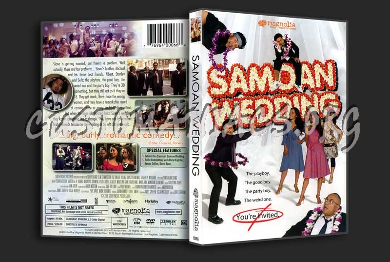 Samoan Wedding dvd cover