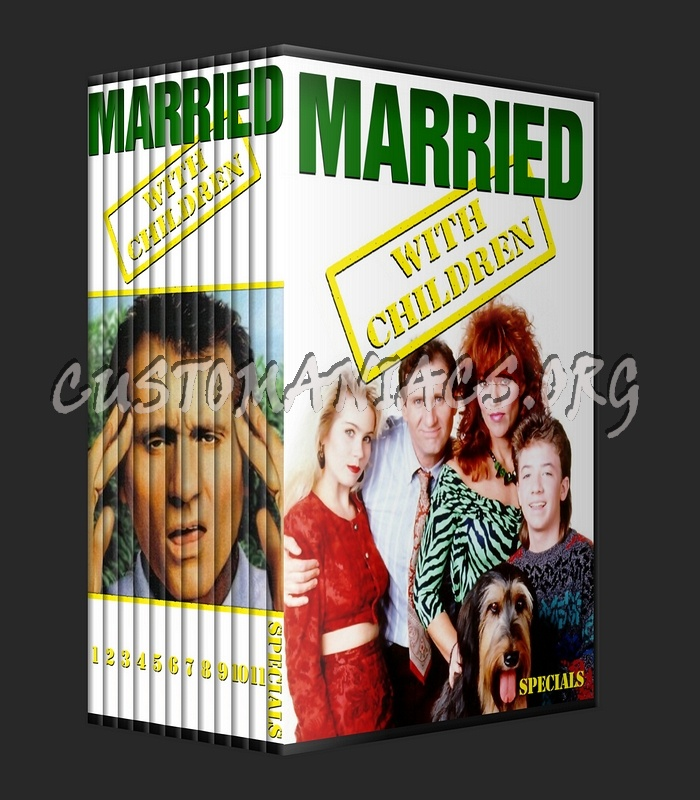 Married With Children - Season 1-11 dvd cover