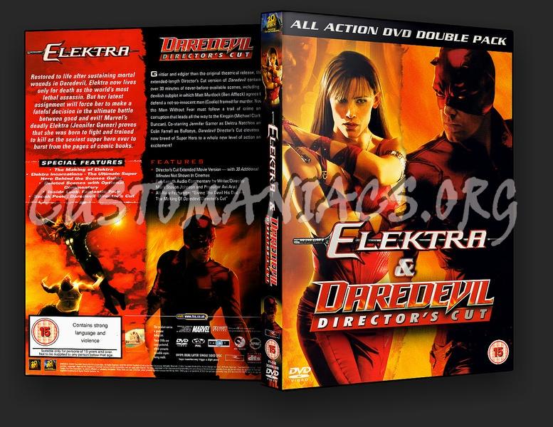 Elektra Daredevil Double dvd cover