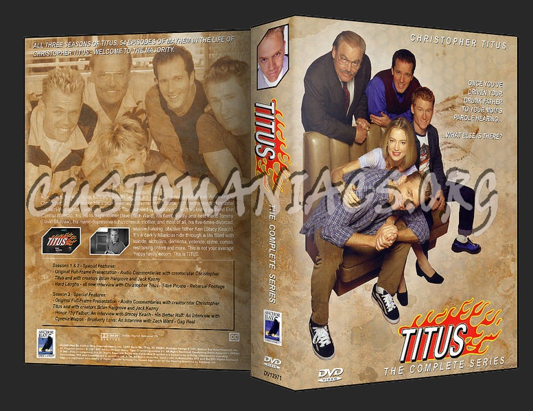 Titus - The Complete Series dvd cover
