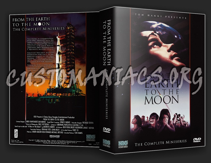 From The Earth To The Moon dvd cover