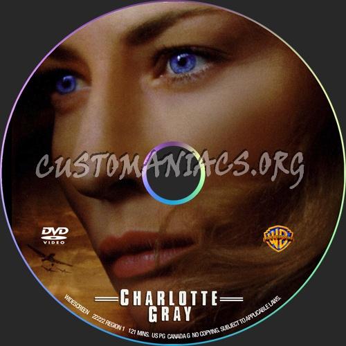 Charlotte Gray dvd label
