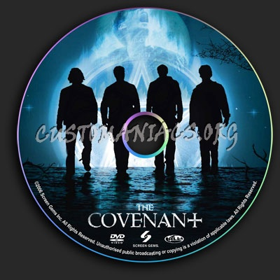 The Covenant dvd label