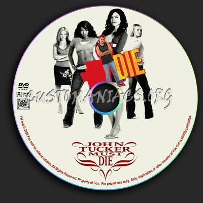 John Tucker Must Die dvd label