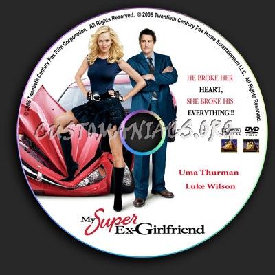 My Super Ex-Girlfriend dvd label