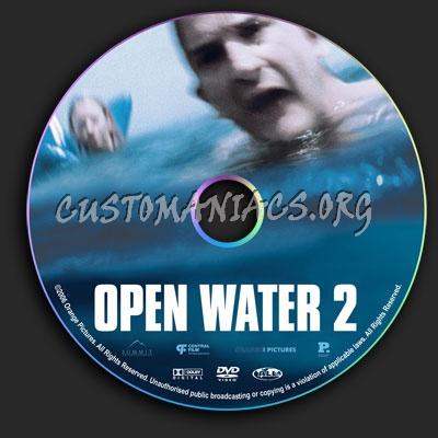 Open Water 2 dvd label