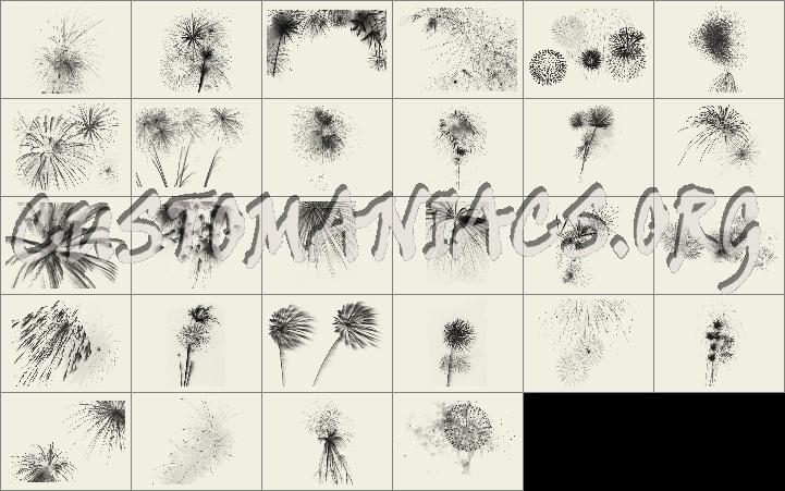 Fireworks Photoshop Brushes 1