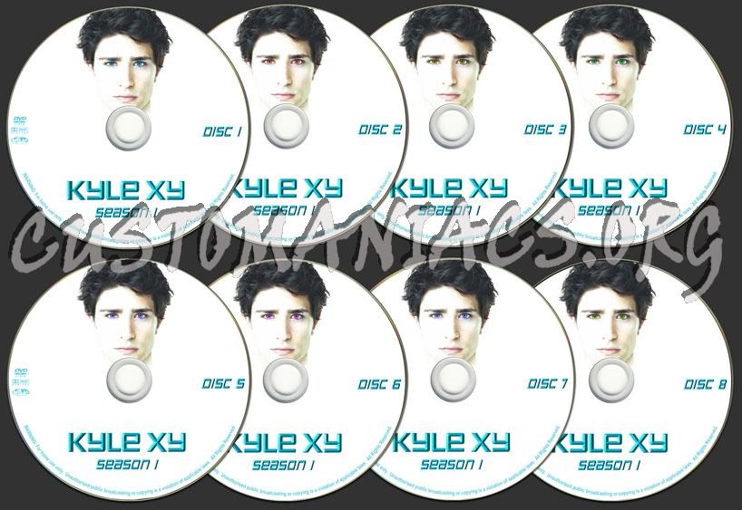 Kyle XY - Season 1 dvd label