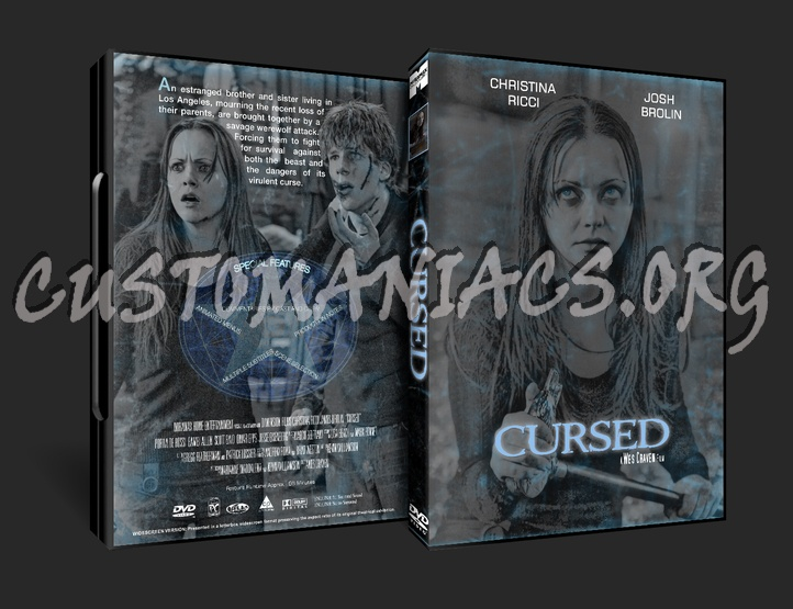 Cursed dvd cover