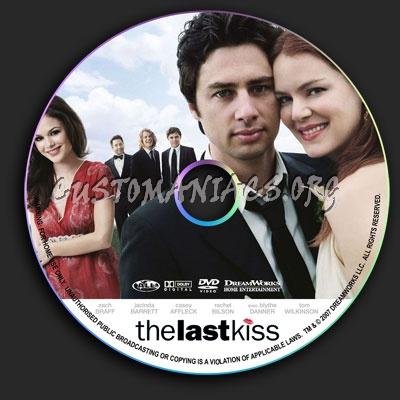 The Last Kiss dvd label