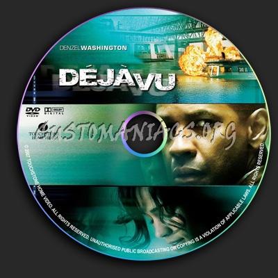 Deja Vu dvd label