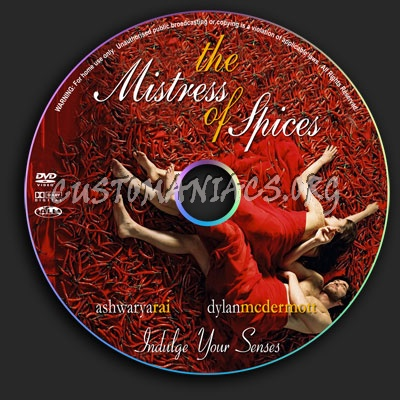 Mistress Of Spices dvd label