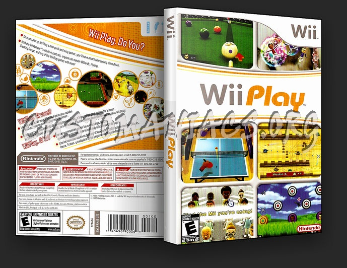 Wii Play dvd cover
