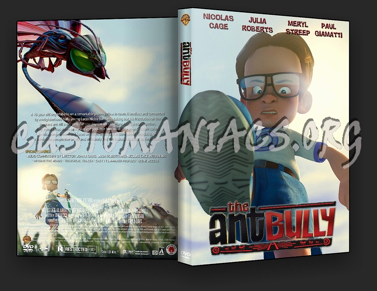 The Ant Bully dvd cover