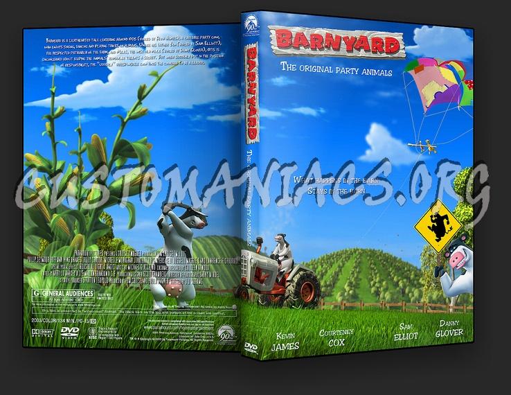 Barnyard dvd cover