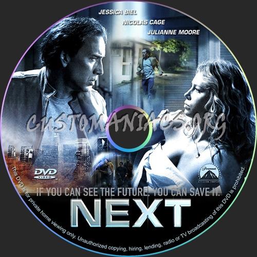 Next dvd label