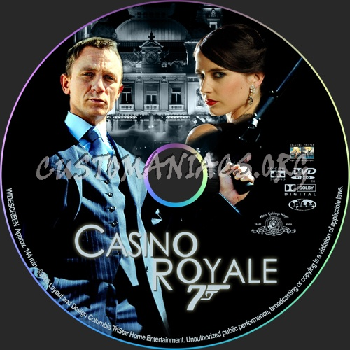 Casino Royale dvd label