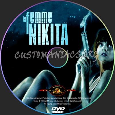 La Femme Nikita dvd label - DVD Covers & Labels by