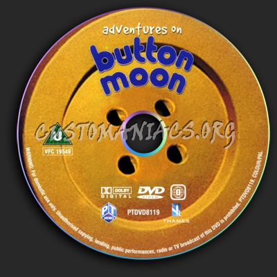 Button Moon dvd label