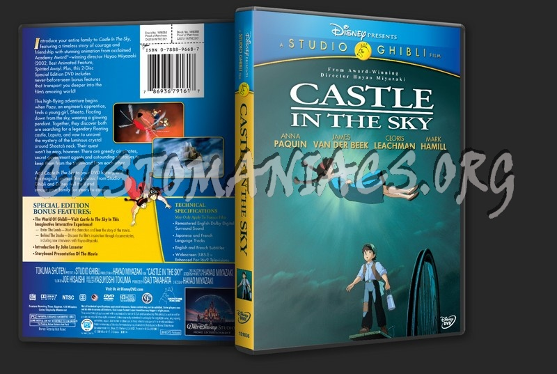 Castle in the Sky dvd cover