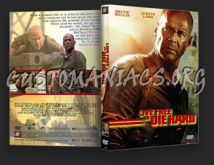 Die Hard 4.0 - Live Free Or Die Hard dvd cover