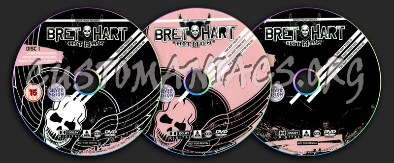 Bret Hart The Best There Is dvd label