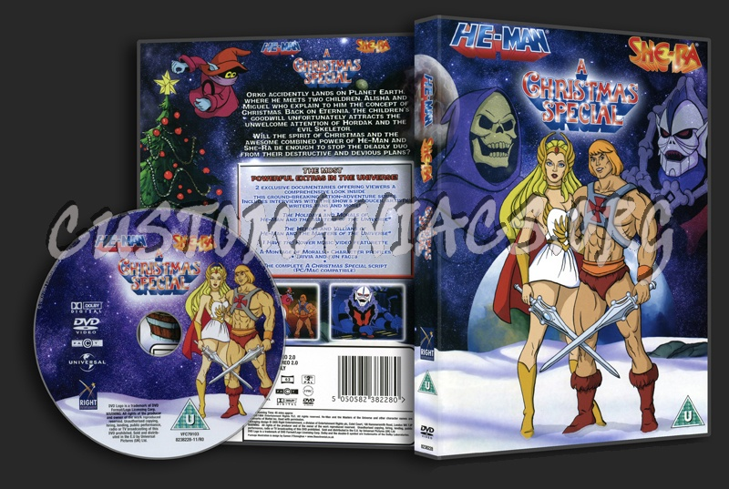 He-Man & She-Ra - A Christmas Special dvd cover