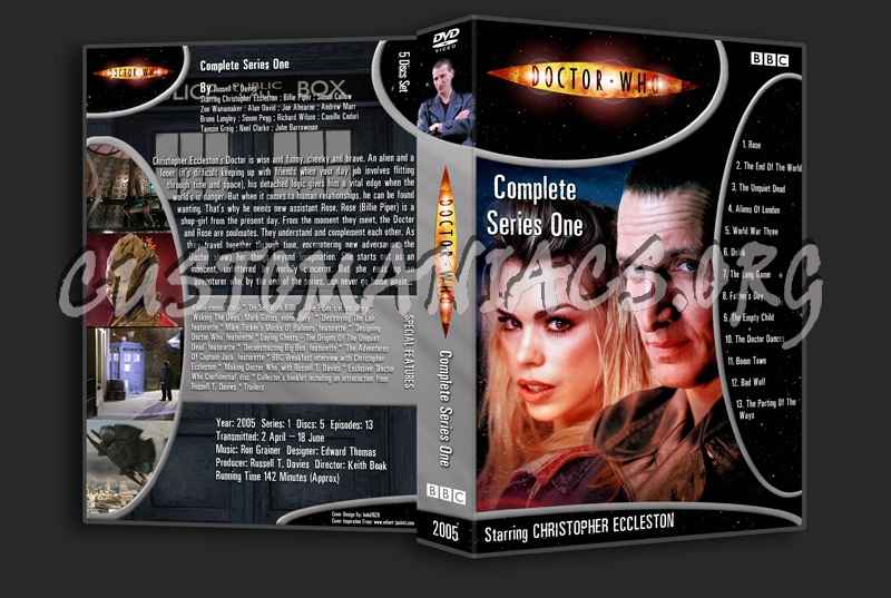 Doctor Who Complete Series 1 dvd cover