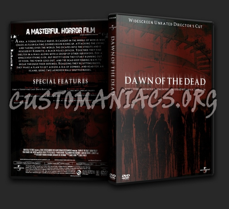 Dawn Of The Dead (2004) dvd cover