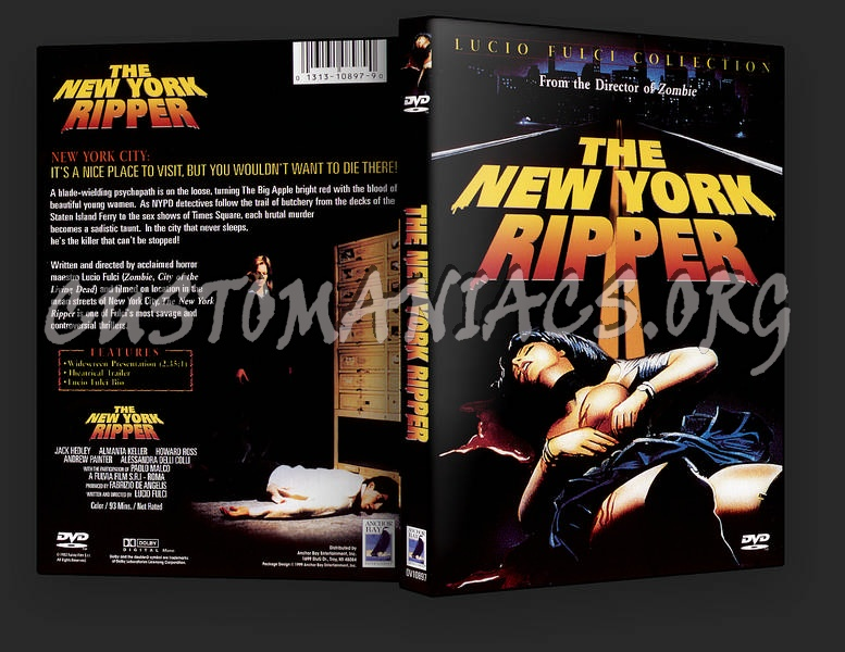 New York Ripper dvd cover