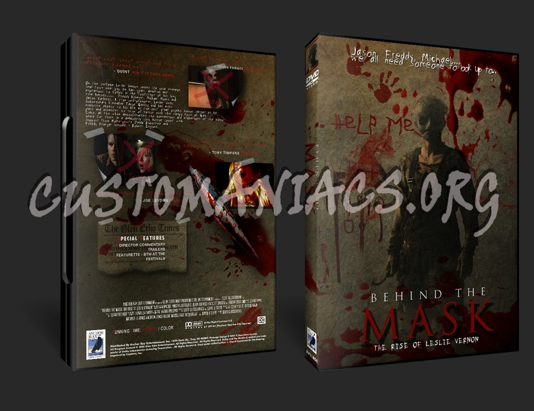 Behind The Mask - The Rise Of Leslie Vernon dvd cover
