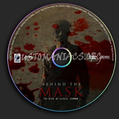 Behind Mask dvd label