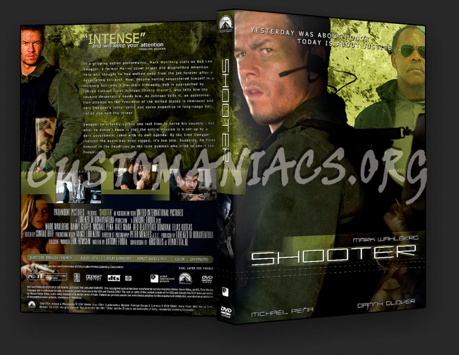 Shooter dvd cover