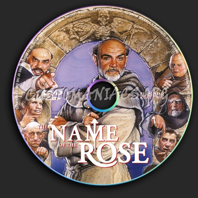 The Name of the Rose dvd label