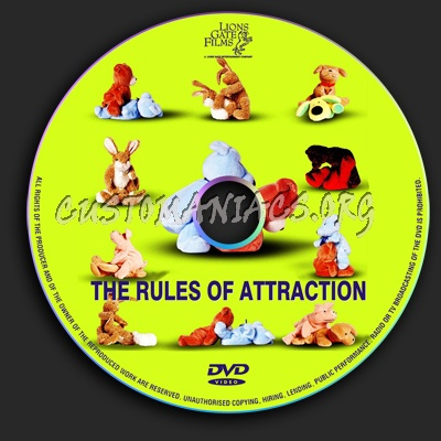 The Rules of Attraction dvd label