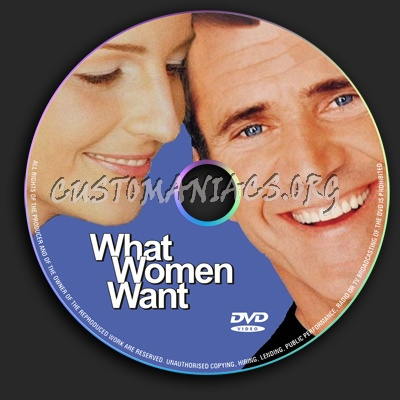 What Women Want dvd label