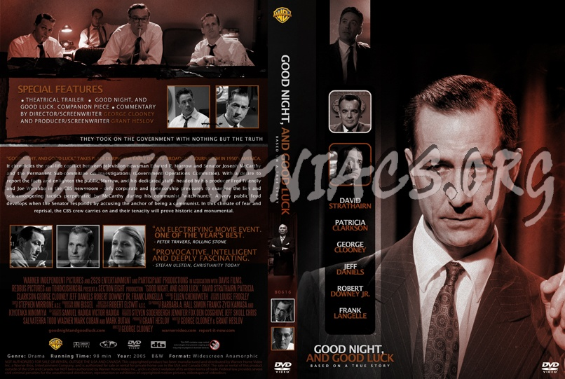 Good Night And Good Night dvd cover