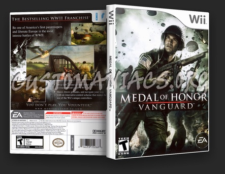 Medal Of Honor Vanguard dvd cover