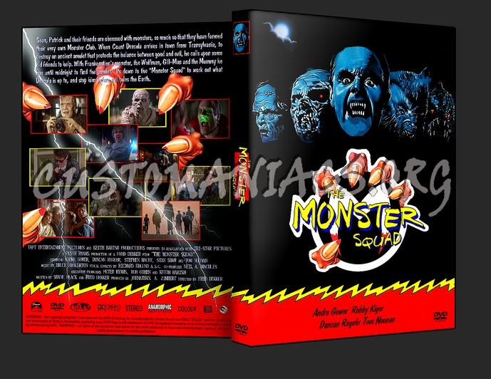 The Monster Squad dvd cover