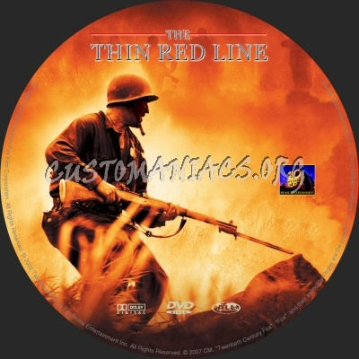 The Thin Red Line dvd label