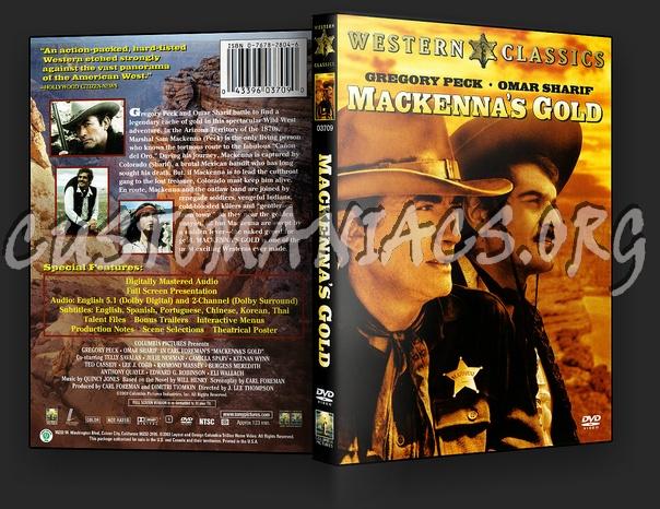 Mackenna's Gold dvd cover
