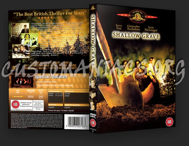 Shallow Grave dvd cover